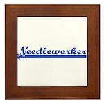 Needleworker Framed Tile