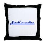 Needleworker Throw Pillow
