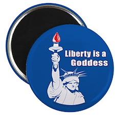 Liberty is a Goddess Magnet (100 pk)