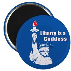 Liberty is a Goddess Magnet (100 pk)