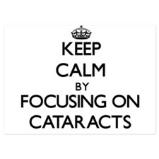 Keep Calm by focusing on Cataracts Invitations