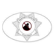 Crime Watch Logo Decal