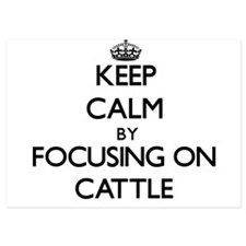 Keep Calm by focusing on Cattle Invitations