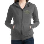played with dinosaurs Women's Zip Hoodie