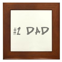 Dad Framed Tile