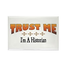 Trust Historian Rectangle Magnet (100 pack)