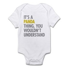 Its A Panda Thing Infant Bodysuit
