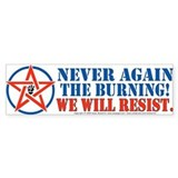 Resist! Bumper Bumper Sticker