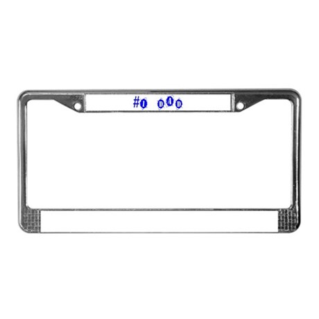 Dad License Plate Frame