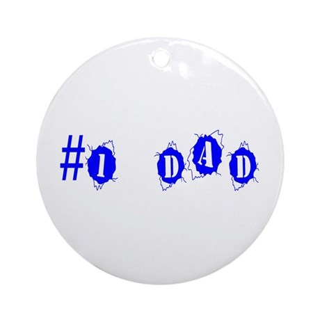 Dad Ornament (Round)
