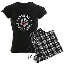 I Love My Goldendoodle Pajamas