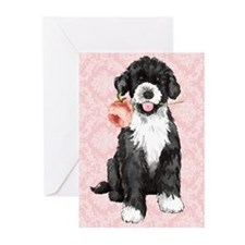 PWD rose Greeting Cards