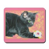 """Playful Kitty"" Mousepad"