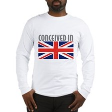 Conceived in UK - Long Sleeve T-Shirt