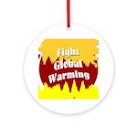 Fight Global Warming (Tree Ornament)