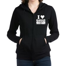 Unique Eighties Women's Zip Hoodie