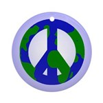 Peace On Earth Christmas Tree Ornament