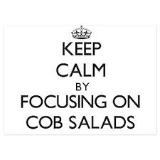 Keep Calm by focusing on Cob Salads Invitations
