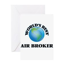 World's Best Air Broker Greeting Cards
