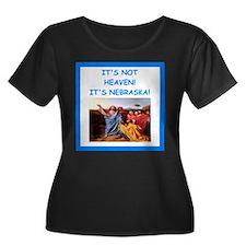 nebraska Plus Size T-Shirt