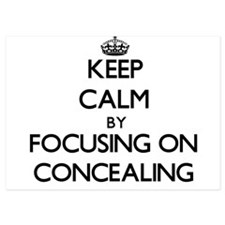 Keep Calm by focusing on Concealing Invitations