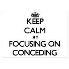 Keep Calm by focusing on Conceding Invitations