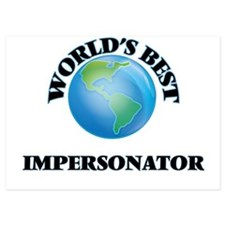 World's Best Impersonator Invitations