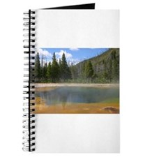Yellowstone mineral lake #5 Journal