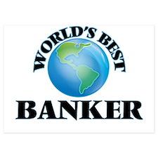 World's Best Banker Invitations