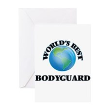 World's Best Bodyguard Greeting Cards