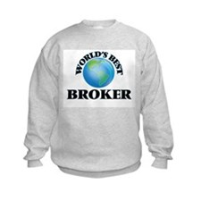 World's Best Broker Sweatshirt