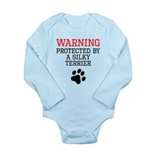 Protected By A Silky Terrier Body Suit