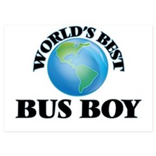World's Best Bus Boy Invitations
