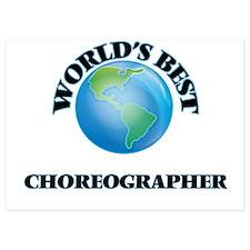 World's Best Choreographer Invitations
