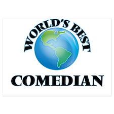 World's Best Comedian Invitations