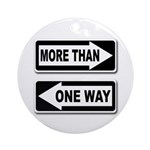 More Than One Way (Tree Ornament)