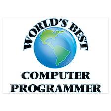 World's Best Computer Programmer Invitations