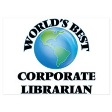 World's Best Corporate Librarian Invitations