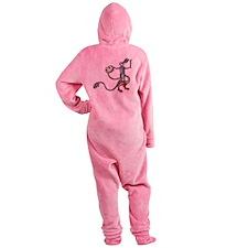 Bunny Monster Slayer c.1300 Footed Pajamas