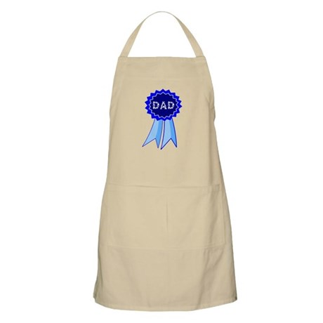 Dad's Blue Ribbon BBQ Apron