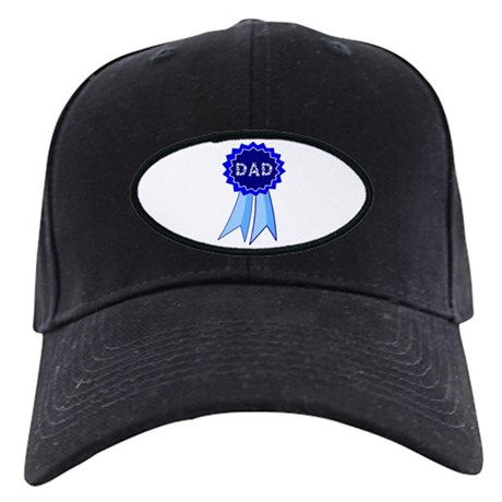 Dad's Blue Ribbon Black Cap