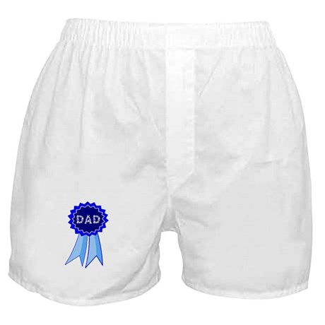 Dad's Blue Ribbon Boxer Shorts