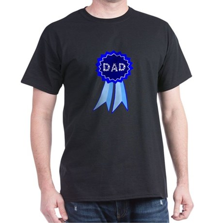 Dad's Blue Ribbon Dark T-Shirt
