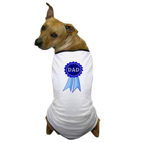 Dad's Blue Ribbon Dog T-Shirt