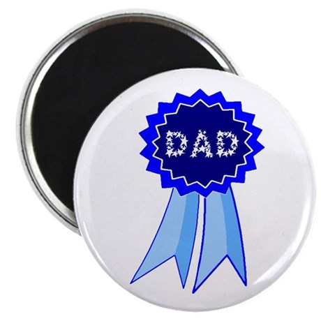 Dad's Blue Ribbon 2.25&quot; Magnet (10 pack)