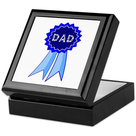 Dad's Blue Ribbon Keepsake Box