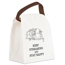 Streaming Happiness Canvas Lunch Bag