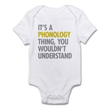 Its A Phonology Thing Infant Bodysuit
