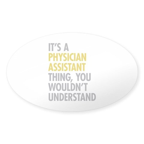Physician Assistant Thing Decal
