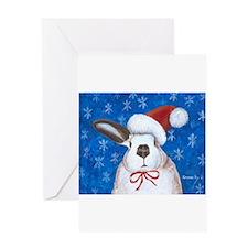 Funny Cute bunny Greeting Card